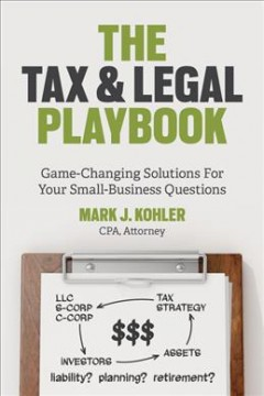 The Tax and Legal Playbook