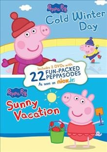 PEPPA PIG: COLD WINTER DAY/SUNNY VACATION