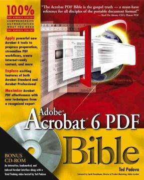 Adobe Acrobat 6 PDF Bible
