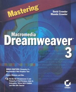 Mastering Macromedia Dreamweaver 3