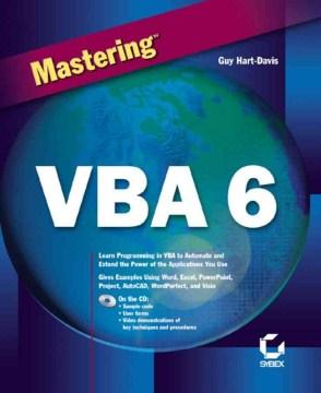 Mastering VBA 6