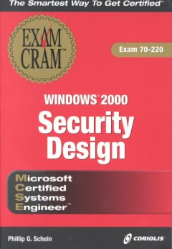 MCSE Windows 2000 Security Design Exam Cram