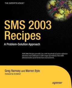 SMS 2003 Recipes