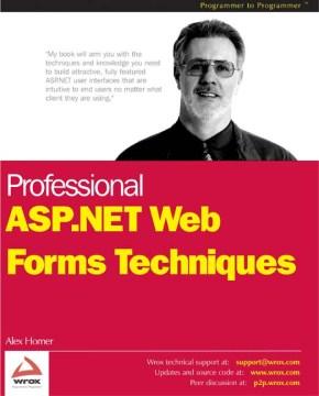 Professional ASP.NET Web Forms Techniques