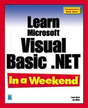 Learn Microsoft Visual Basic .NET in A Weekend