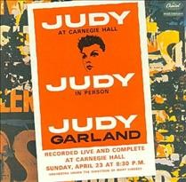 Judy at Carnegie Hall