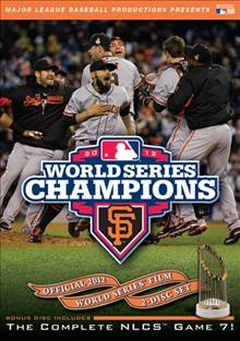 MLB Official 2012 World Series Champions