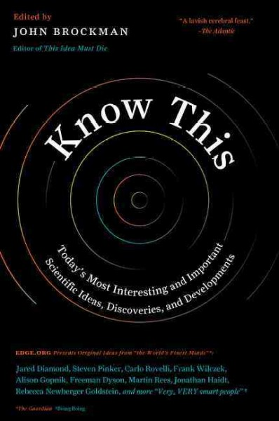 Cover image for Know This
