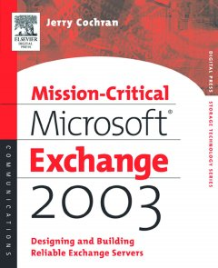 Mission-critical Microsoft Exchange 2003