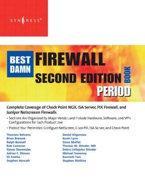 Best Damn Firewall Book Period