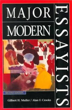 Major Modern Essayists