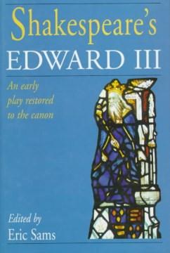 Shakespeare's Edward III