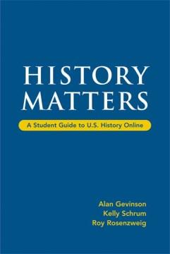 U.S. HISTORY MATTERS
