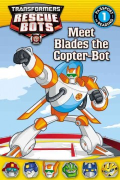 Meet Blades the Copter-bot