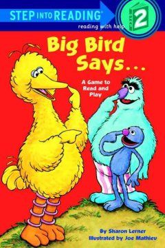 Big Bird Says