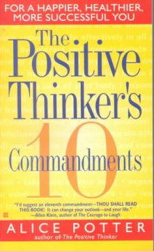 The Positive Thinker's 10 Commandments