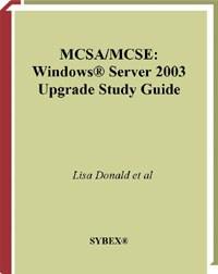 MCSA/MCSE Windows Server 2003 Upgrade