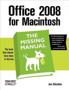 Office 2008 for Macintosh