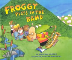 Froggy Plays in the Band