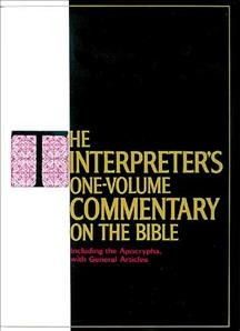 The Interpreter's One Volume Commentary on the Bible