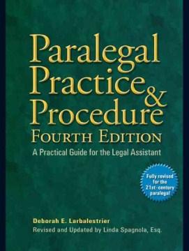 Paralegal Practice & Procedure