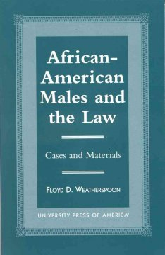 African-American Males and the Law