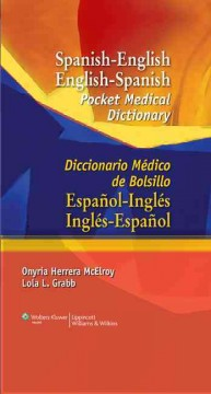 Spanish-English English-Spanish Pocket Medical Dictionary