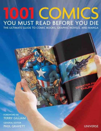 Cover image for 1001 Comic Books You Must Read Before You Die