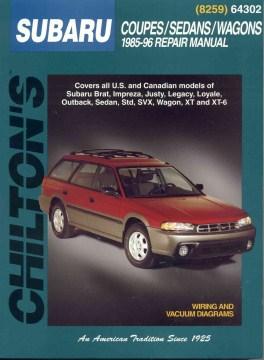 Chilton's Subaru