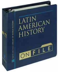 Latin American History on File