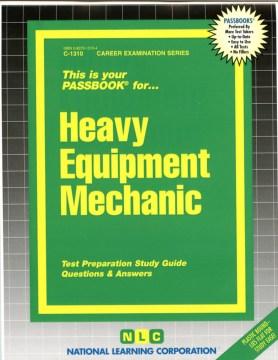Heavy Equipment Mechanic