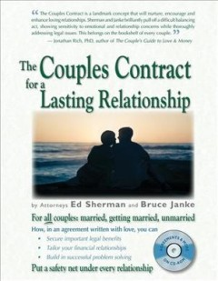 The Couples Contract for A Lasting Relationship
