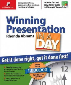 Winning Presentation in A Day