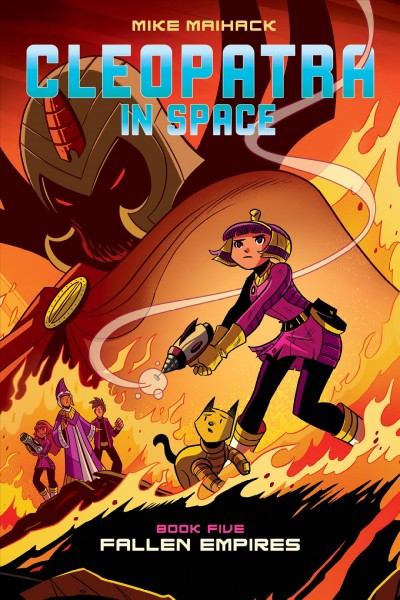 Cover image for Cleopatra in Space