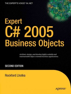 Expert C♯ 2005 Business Objects
