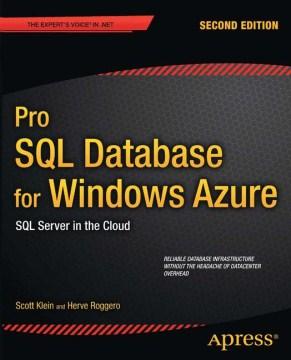 Pro SQL Database for Windows Azure