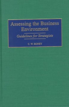 Assessing the Business Environment