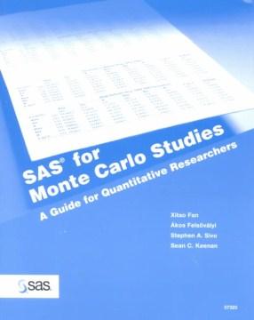 SAS for Monte Carlo Studies