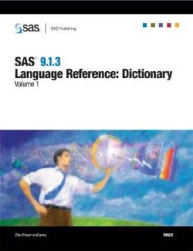 SAS 9.1.3 Language Reference