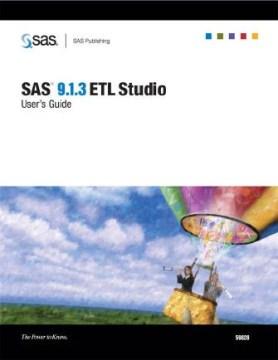 SAS 9.1.3 ETL Studio