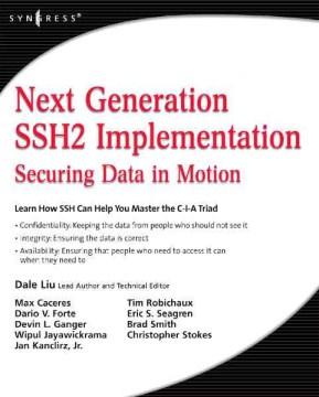 Next Generation SSH2 Implementation