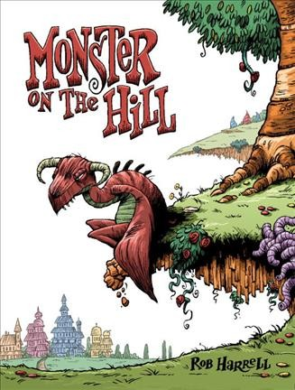 Cover image for Monster on the Hill