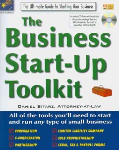 The Business Start-up Toolkit