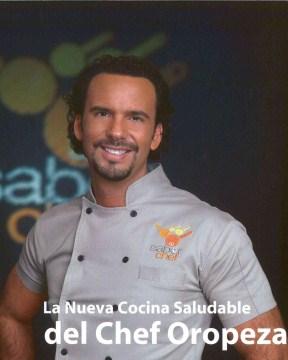 La nueva cocina saludable del chef Oropeza