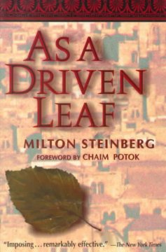 As A Driven Leaf