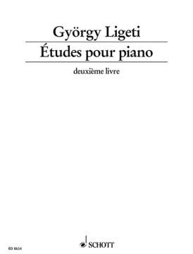 Etudes pour piano, deuxième livre (1988-94)