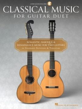 Classical music for guitar duet