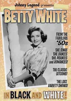 Betty White in Black and White
