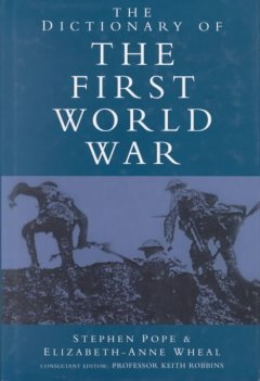 The Dictionary of the First World War