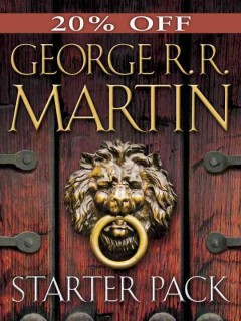 George R. R. Martin Starter Pack 4-book Bundle